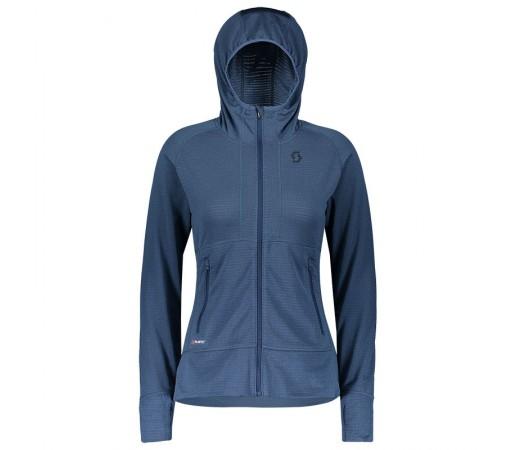 Bluza Mid-Layer Femei Scott Defined Polar Hoody Albastru Denim