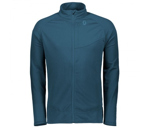Bluza Mid-Layer Barbati Scott Defined Polar Bleumarin
