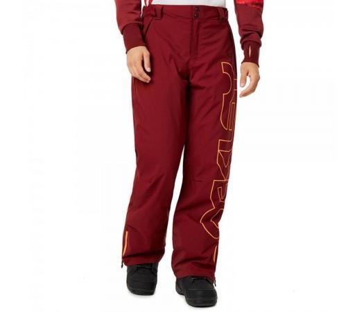 Pantaloni Ski Barbati Oakley Cedar Ridge Insulated 10K/2L Oxblood Red (Rosu)