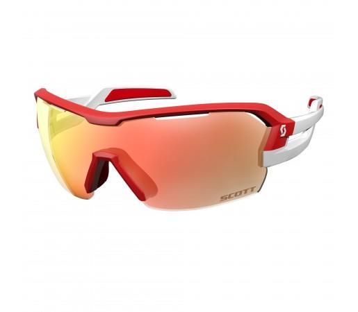 Ochelari de soare Ciclism Scott Spur M Red / White / Red Chrome Enhancer + Clear