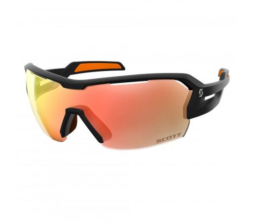 Ochelari de soare Ciclism Scott Spur M Black Matt / Orange / Red Chrome Enhancer + Clear
