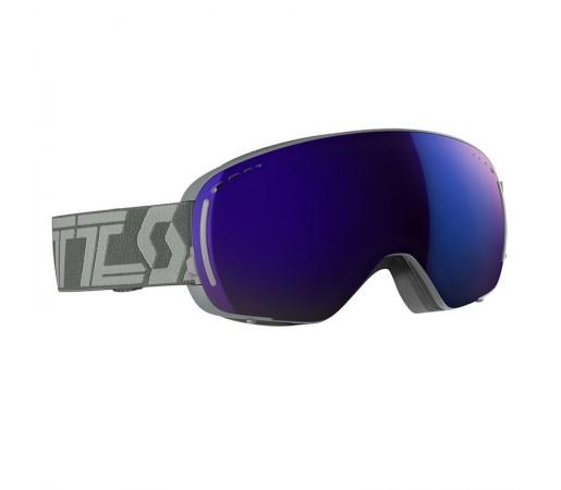 Ochelari Ski si Snowboard Scott LCG Compact Throw Back Grey / Solar Blue Chrome