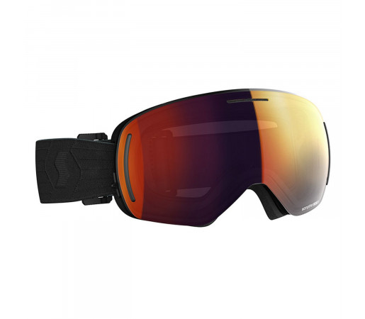 Ochelari Ski Unisex Scott Lcg Evo Black/Solar Red Chrome