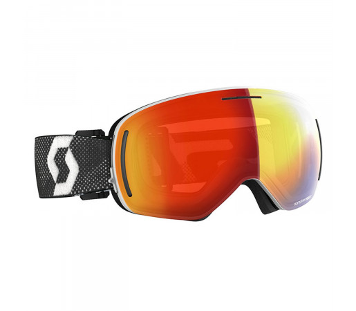 Ochelari Ski Unisex Scott Lcg Evo White/Black/Enhancer Red Chrome