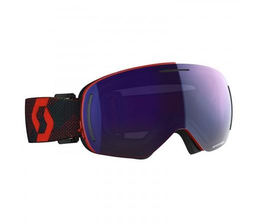 Ochelari Ski Unisex Scott Lcg Evo Red/Blue Nights/Solar Blue Chrome