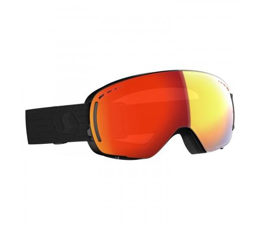 Ochelari Ski Unisex Scott Lcg Compact Black/Enhancer Red Chrome