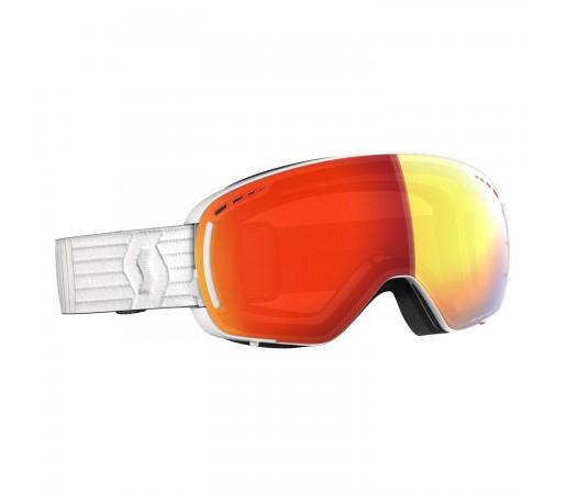 Ochelari Ski Unisex Scott Lcg Compact White/Enhancer Red Chrome