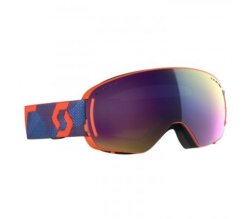 Ochelari Ski Unisex Scott Lcg Compact Grenadine Orange/Enhancer Teal Chrome