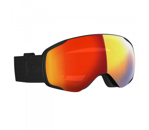 Ochelari Ski Unisex Scott Vapor LS Black/Light Sensitive Red Chrome