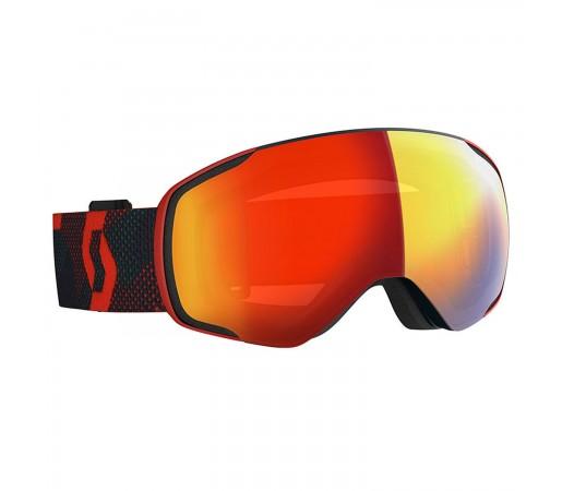 Ochelari Ski Unisex Scott Vapor LS Red/Blue Nights/Light Sensitive Red Chrome