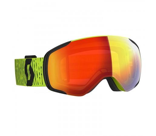Ochelari Ski Unisex Scott Vapor Yellow/Enhancer Red Chrome