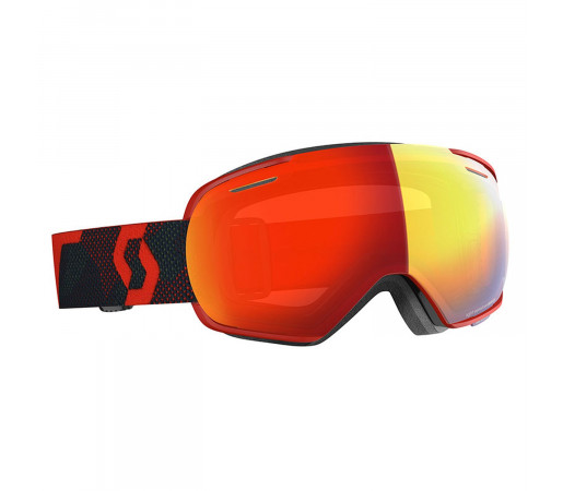 Ochelari Ski Unisex Scott Linx LS Red/Blue Nights/Light Sensitive Red Chrome