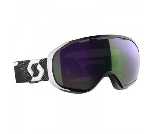 Ochelari Ski Unisex Scott Fix Black/White/Enhancer Green Chrome