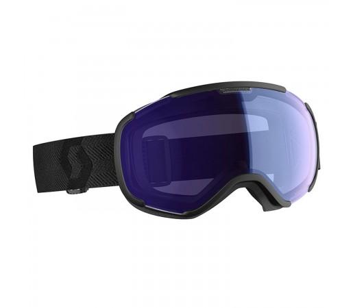 Ochelari Ski Unisex Scott Faze II Black/Illuminator Blue Chrome