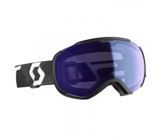 Ochelari Ski Unisex Scott Faze II Black/White/Illuminator Blue Chrome