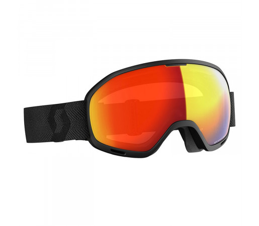 Ochelari Ski Unisex Scott Unlimited II OTG LS Black/Light Sensitive Red Chrome