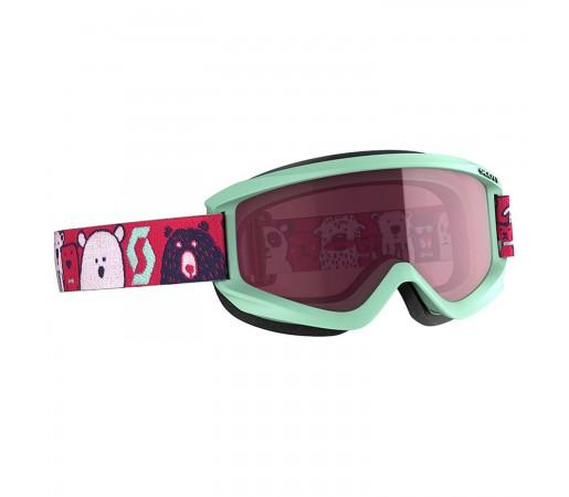 Ochelari Ski Copii Scott Jr Agent Mint Green/Pink/Enhancer