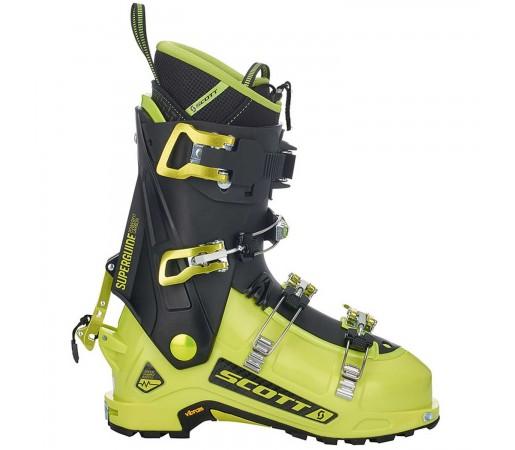 Clapari Ski Unisex Scott Superguide Carbon 125 Lime Green/Black