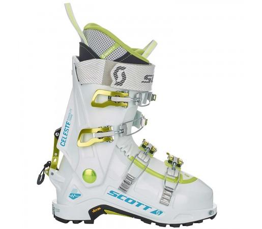 Clapari Ski Femei Scott Celeste 100 White/White