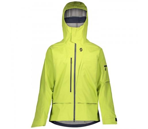 Geaca Ski Barbati Scott Vertic 3L Lime Yellow