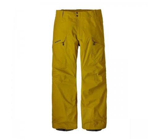 Pantaloni Barbati Ski si Snowboard Patagonia Untracked Mustar / Bleumarin
