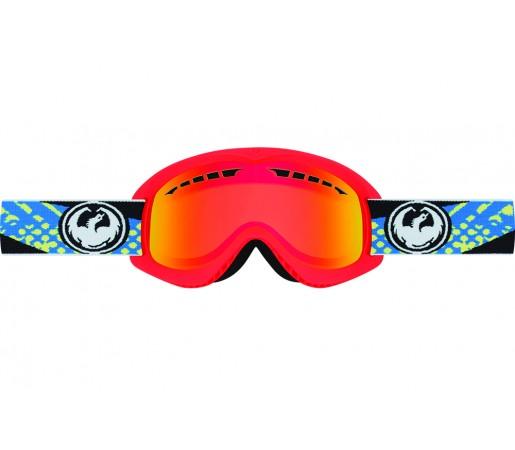 Ochelari schi si snowboard Dragon DX Rosii / Red Ionized