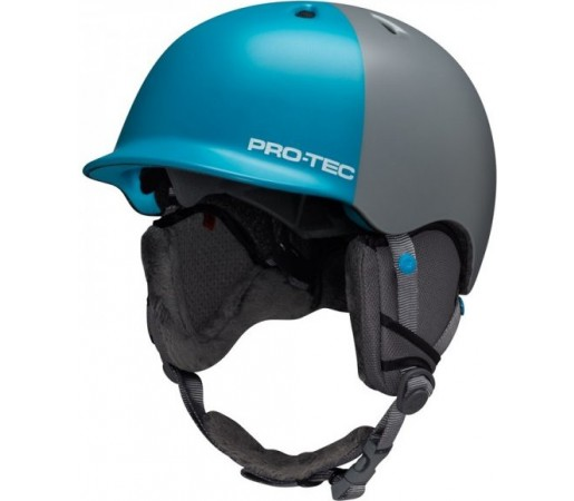Casca schi si snowboard Pro-Tec Riot Gri/ Albastru
