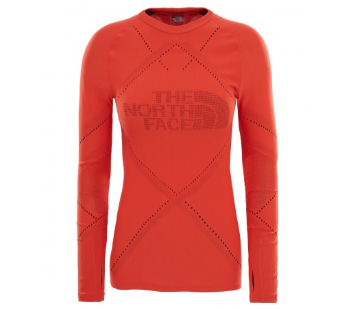 Bluza First Layer The North Face Flight Pack L/S W Rosu
