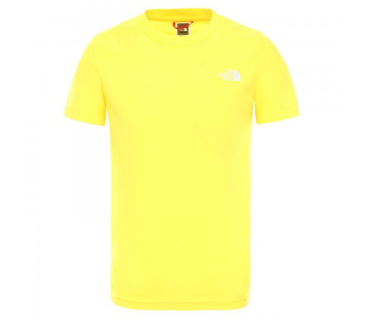 Tricou Drumetie Copii The North Face Youth Short Sleeve Simple Dome Tee Tnf Lemon (Galben)