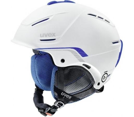 Casca Schi si Snowboard Uvex P1us Pro Alba