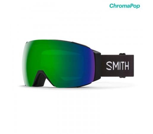 Ochelari Ski Si Snowboard Unisex Smith I/O Mag XL Black Chromapop Sun Green Mirror Negru