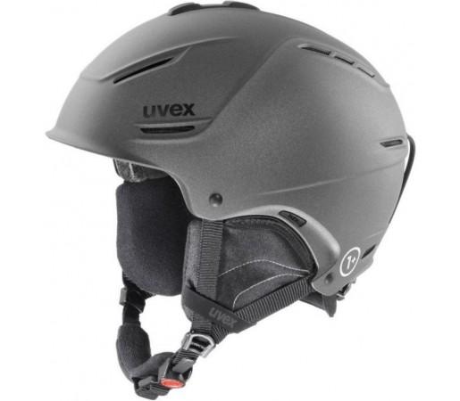 Casca Schi si Snowboard Uvex P1us Neagra Mat