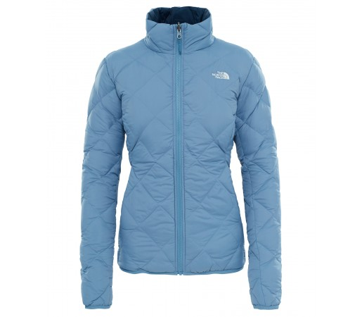 Geaca The North Face Pfr Zip-In Reversible W Albastru