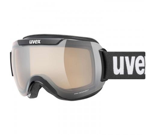 Ochelari Ski si Snowboard Unisex Uvex Downhill 2000 V Black Mirror Silver