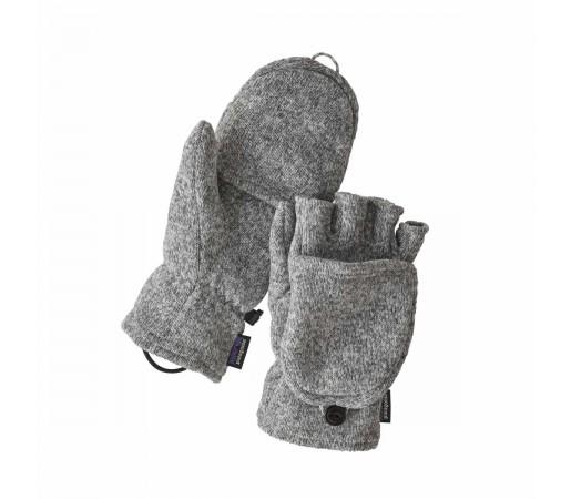 Manusi Patagonia Better Sweater Gloves Birch White (Gri)