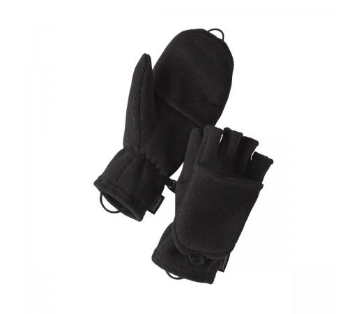 Manusi Patagonia Better Sweater Gloves Black (Negru)