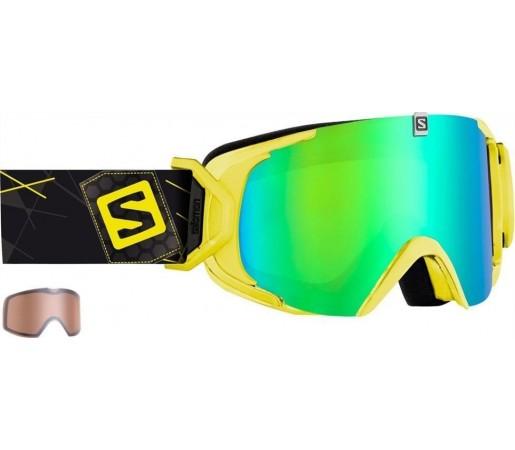 Ochelari Ski si Snowboard Salomon X-View Yellow/ Green