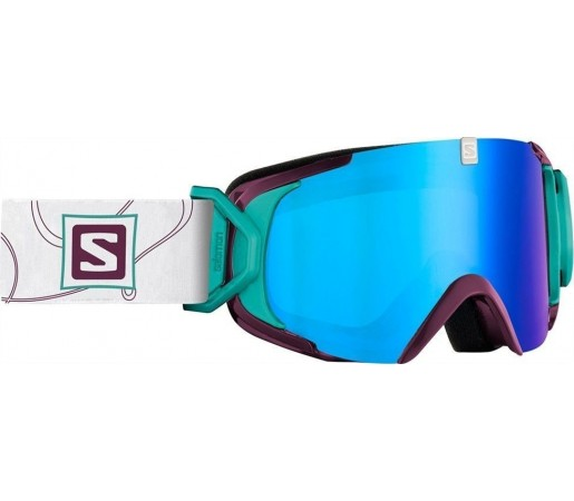 Ochelari Ski si Snowboard Salomon X-View S Rasberry/ Blue Solar