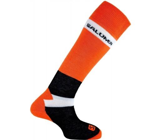 Sosete Snowboard Salomon Alias Orange- Black