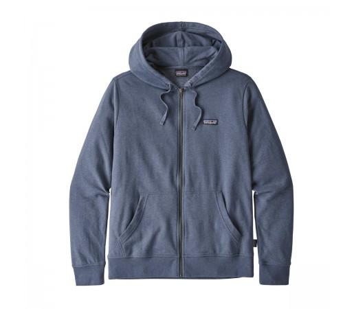 Bluza Barbati Patagonia P-6 Label LW Full-Zip Hoody Albastru Gri