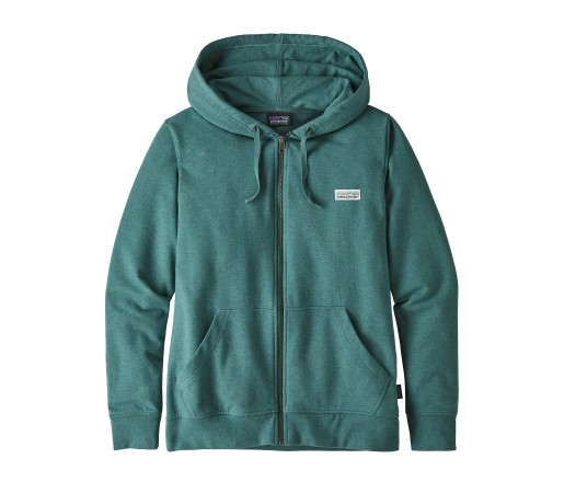 Bluza Femei Patagonia Pastel P-6 Label Ahnya Full-Zip Hoody Verde