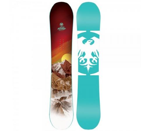 Placa Snowboard Unisex Never Summer Infinity 149 Turcoaz