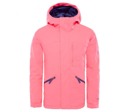 Geaca Fete Ski si Snowboard The North Face Lenado Insulated Corai