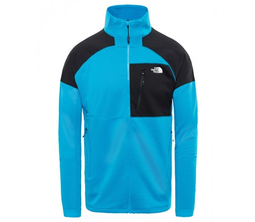 Bluza Mid-Layer Barbati Hiking The North Face Impendor Grid Albastru / Negru