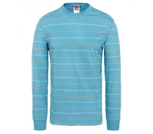 Bluza Barbati The North Face Stripes Albastru