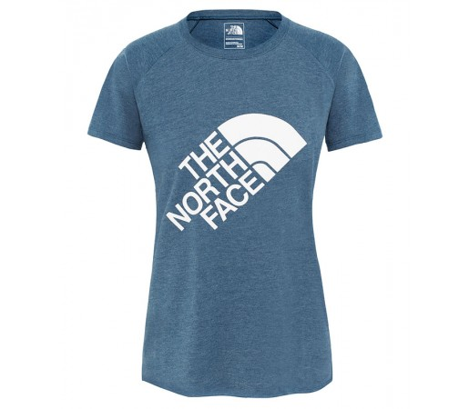 Tricou Femei The North Face Graphic Play Hard Bleumarin