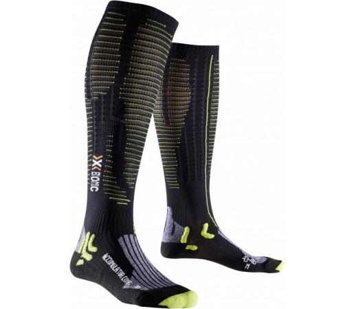Sosete X-Socks Accumulator Competition Black/Lime