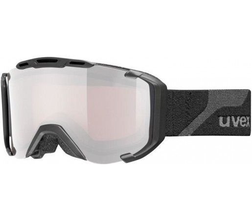 Ochelari Ski si Snowboard Uvex Snowstrike PM Polavision Negru
