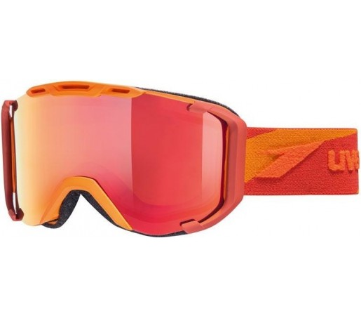 Ochelari Ski si Snowboard Uvex Snowstrike PM Polavision Rosu