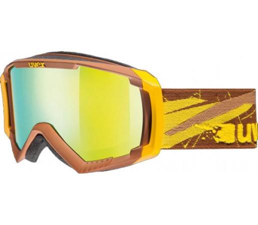 Ochelari Ski si Snowboard Uvex Apache II Galben